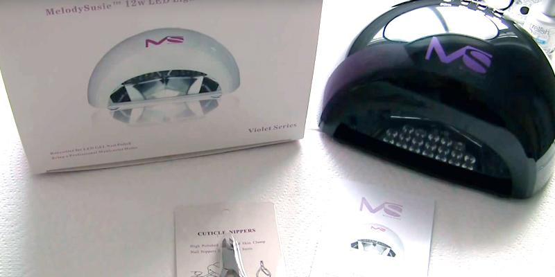 Review of MelodySusie LED Nail Dryer