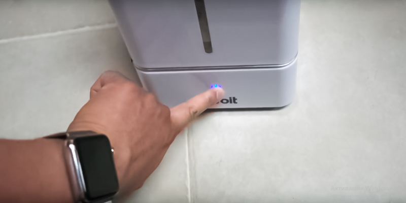 Levoit Cool Mist Ultrasonic in the use
