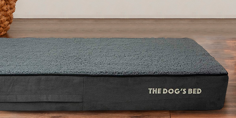 The Dog's Balls Orthopaedic Extra Large Indestructible Dog Bed in the use