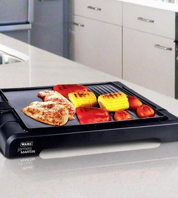 Review of James Martin ZX833Table Top Grill with Flat Plate