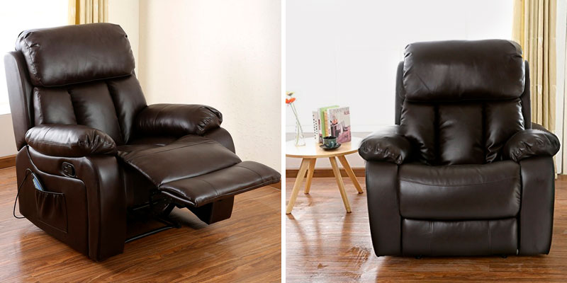More4Homes CHESTER Electric Recliner with Massage in the use