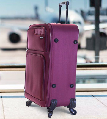Review of Slimbridge Extra Large 79 cm Lightweight Luggage Suitcase