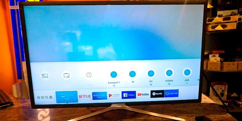 Review of Samsung UE32M5520 32-Inch Full HD Smart TV