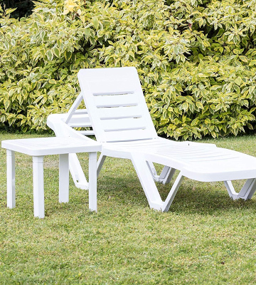 Review of Resol CG209 Pack of 2 Sun Loungers With Side Table