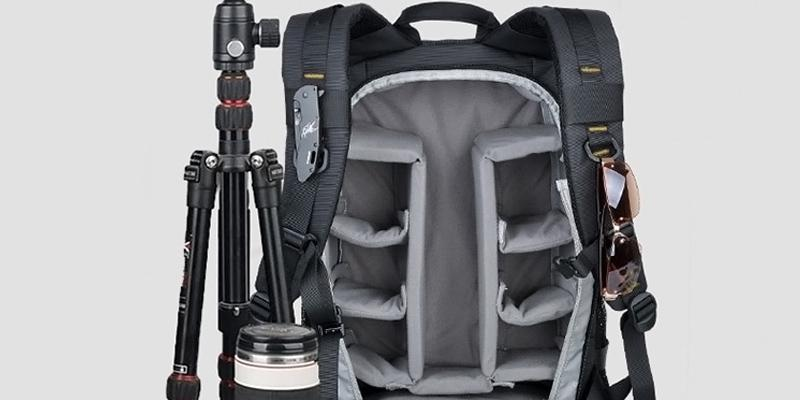 Review of YuHan Oxford Large Capacity Camera Backpack SLR/ DSLR Gadget Bag