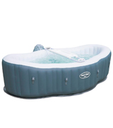 Lay-Z-Spa BW54156 Hot Tub, Siena Airjet Inflatable Spa, 1-2 Person