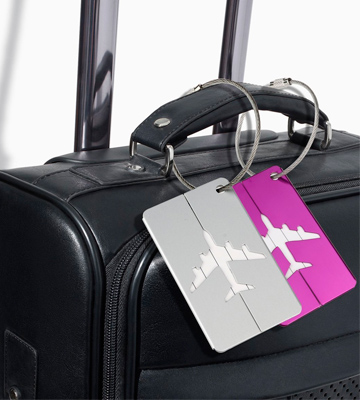 Review of NUOLUX XX71446375XVJE5008 Travel Luggage Tag Labels 7 Colors
