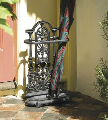 Review of Woodside W464 Ornate Vintage Cast Iron Umbrella/Walking Stick Stand