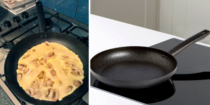 Review of AmazonBasics Non Stick , 28cm Induction Frying Pan