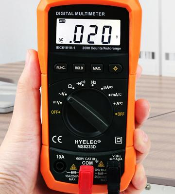 Review of Crenova MS8233D Auto Ranging Auto Ranging Digital Multimeter