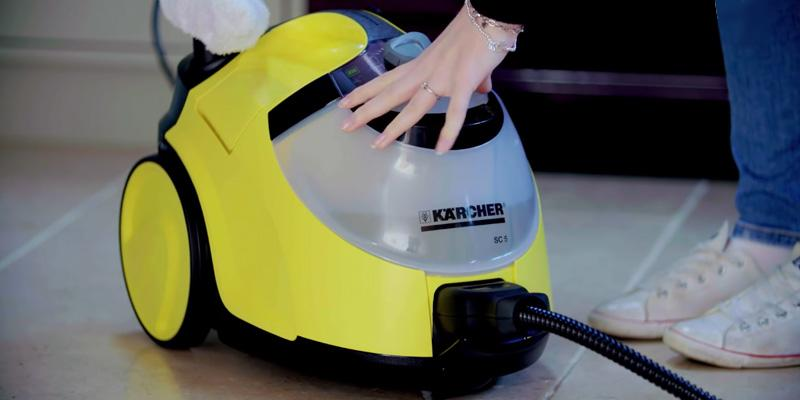 Review of Karcher SC5 Continuous Steam Cleaner