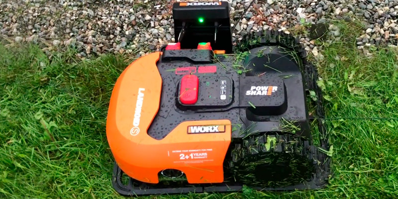 Review of WORX WR130E S300 Landroid Robotic Mower