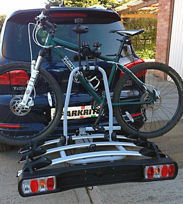 Review of Sparkrite 4-Bike Tow Bar Cycle Carrier