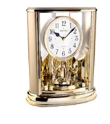 Rhythm Clock 4SG724WR18 Mantel Clock Contemporary