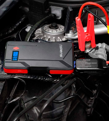 Review of Suaoki P6 Car Jump Starter (800 Amp, 15000 mAh)