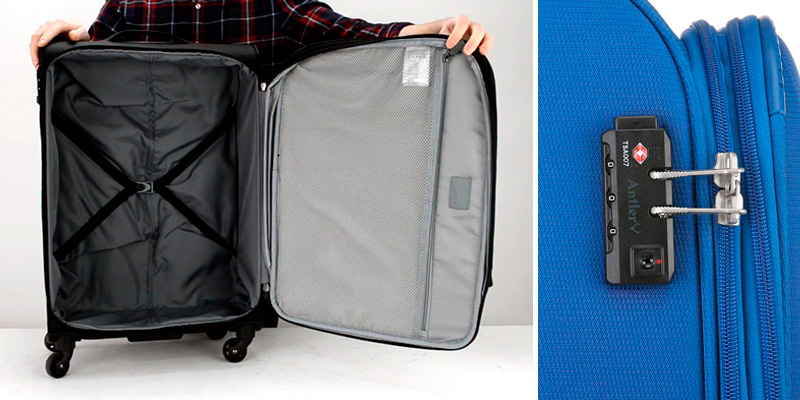 Antler Suitcase Marcus Siro Suitcase Soft Shell in the use