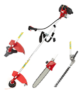 Trueshopping HYM524IN1 Petrol Long Reach Multi Function 5 in 1 Garden Tool