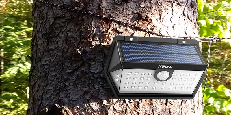 Review of Mpow HMMPCD159BB-UKAA1 40 LED Solar Light with Motion Sensor