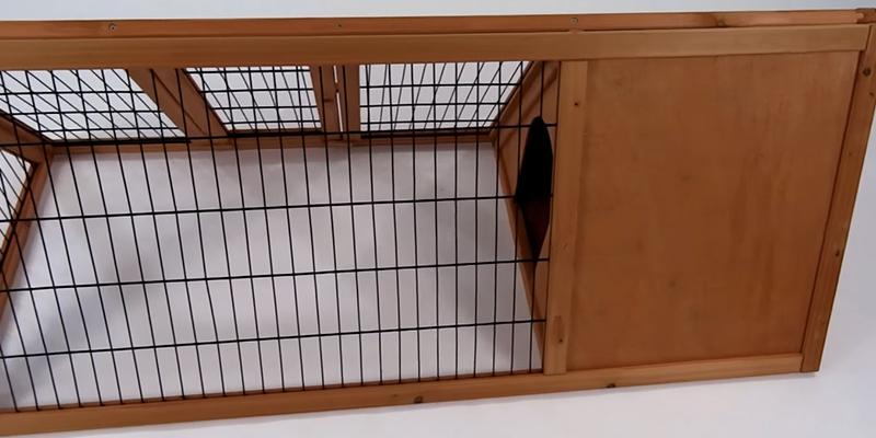 Review of Easipet Triangle Rabbit Hutch
