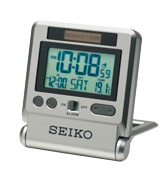 Seiko (224965955) LCD Travel Alarm Clock