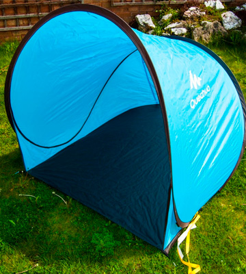 Review of Quechua 2 Seconds Pop-Up Shelter