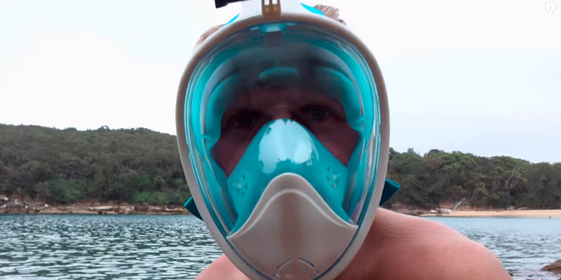 Review of HELLOYEE Snorkel Mask Snorkeling Mask Full Face