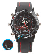 Paishida PSD-DV-8G-T19-B-BD300 Waterproof Watch with Hidden Camera
