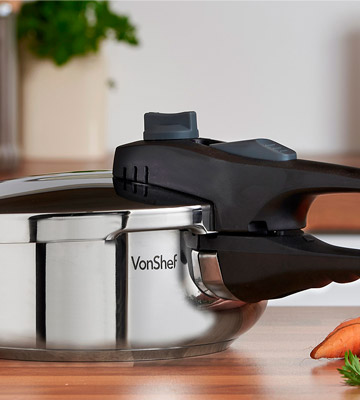 Review of VonShef 3L Stainless Steel Pressure Cooker