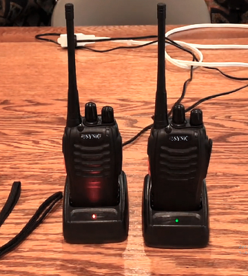 Review of eSynic Long Range Rechargeable Walkie Talkies