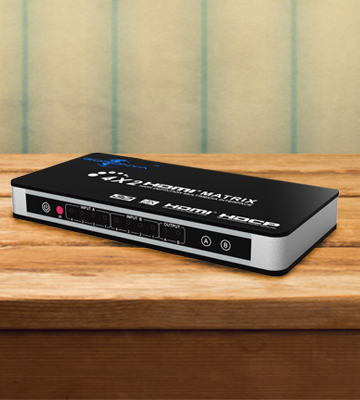 Review of Goronya HDM.MTX.FBA001UK HDMI Splitter/Switcher