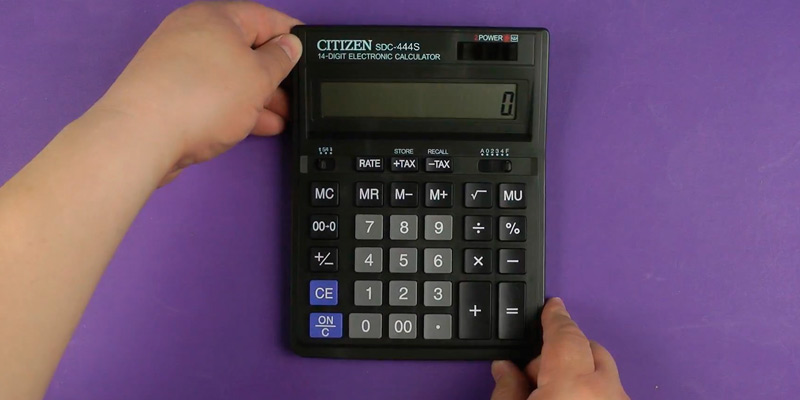 Review of Citizen (SDC444S) Standard Function Desktop Calculator