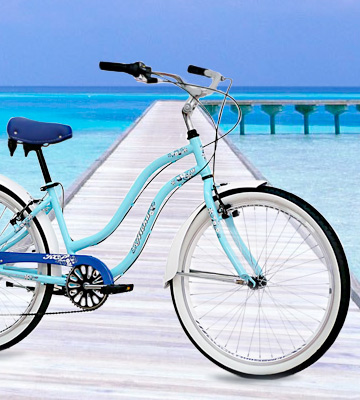 Review of KCP Light Blue Retro Look Cruiser bikes