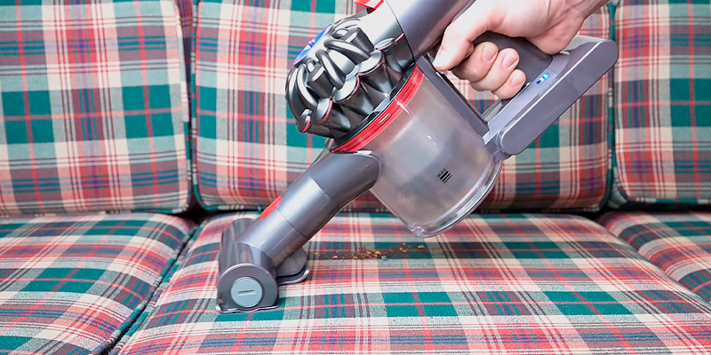 Dyson V8 Animal Handheld Vacuum Cleaner in the use