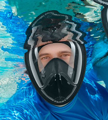 Review of Active Pride Full Face Snorkel Mask Easybreath Snorkeling Mask