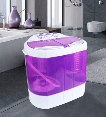 Review of Display4top 201804181619 Electric Mini Portable Compact Washing Machine