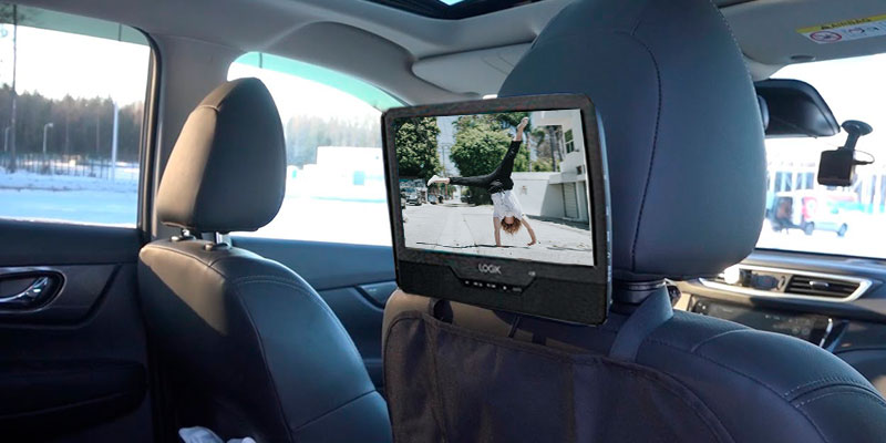 Review of LOGIK L9DUALM13 9-Inch Twin Screen Portable Dual Car DVD Player