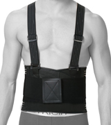 NeoTech Care High-elasticity Back Brace for Men with Suspenders