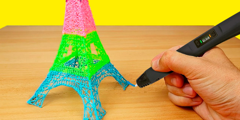 Review of Uzone (UK-3D) 3D Pen with LCD Display for Kids and Adults