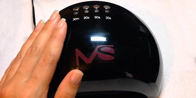 Detailed review of MelodySusie LED Nail Dryer