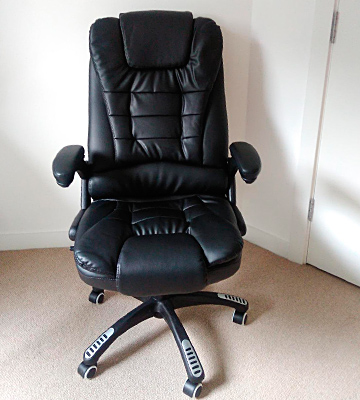 Review of Cherry Tree Furniture MO-MM-17 Extra Padded Office Chair