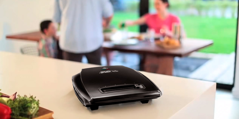 Review of George Foreman 23431 4-Portion Family Health Grill
