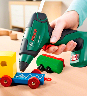 Review of Bosch PKP 3.6 LI Cordless Glue Gun with Integrated 3.6 V Lithium-Ion Battery