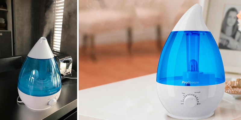 Review of Pro Breeze Large Humidifier 3.8L Ultrasonic Cool Mist