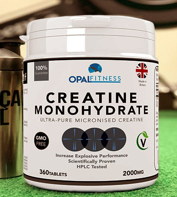 Review of Opal Fitness Micronised Creatine Monohydrate Tablets