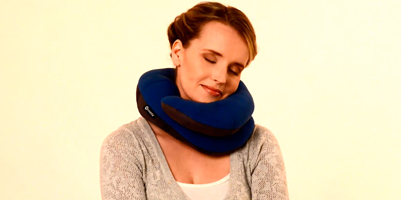 Review of BCOZZY BNP-LNVYFL Travel Pillow Support for Head, Neck, and Chin