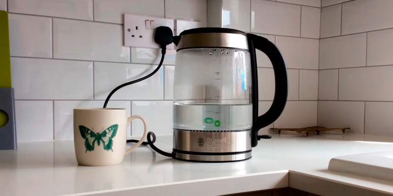 Review of Russell Hobbs 21600-10 Illuminating Glass Electric Kettle