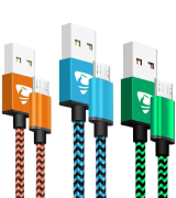 Aione Micro USB Cables Android Charger Cable