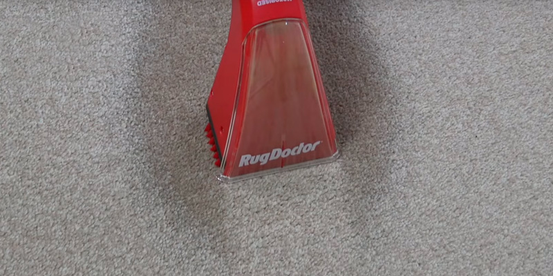 Rug Doctor 933007 Portable Spot Cleaner in the use