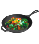 Utopia Kitchen 12.5 Inch Pre-Seasoned Cast Iron Skillet