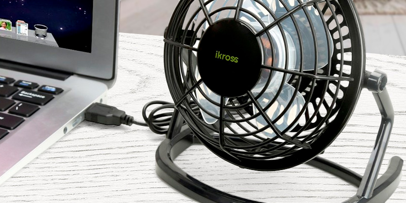 Review of iKross 885157831444 USB Mini Desktop Office Fan